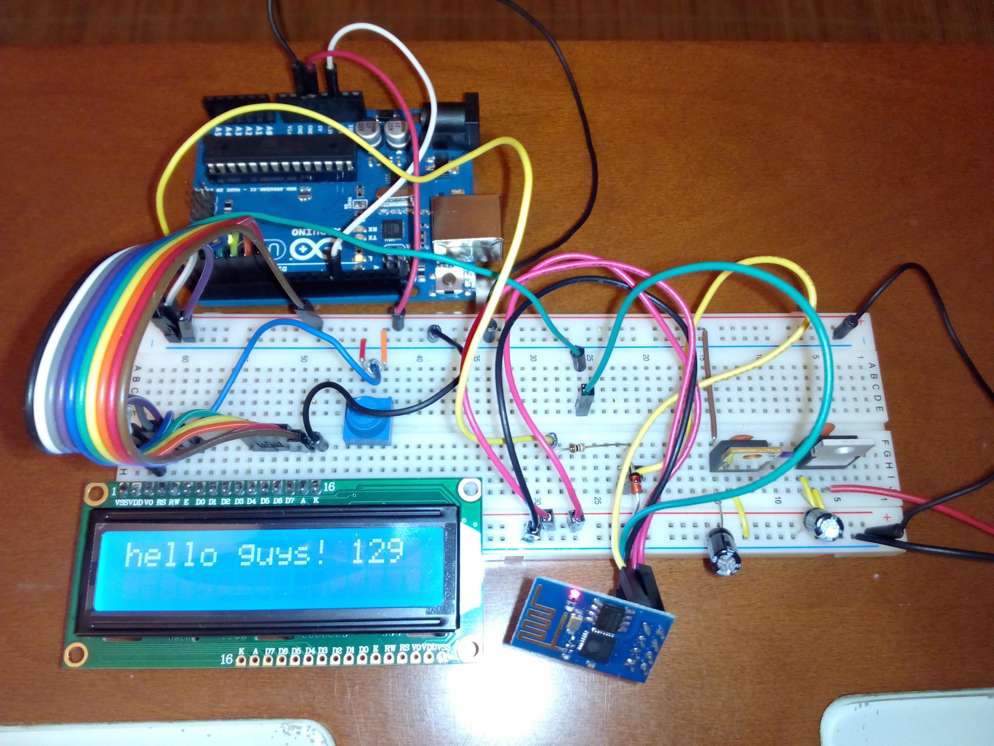 Programando un arduino remotamente con el módulo esp